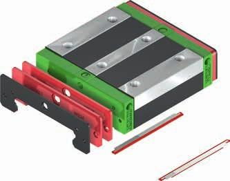 Linear guideways WE/QW series 3.4.9.3 Tightening torques for mounting bolts Insufficient tightening of the mounting bolts compromises the function and precision of the linear guideways.