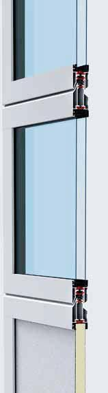 ALR F42 Thermo Thanks to the glazing profiles with thermal break and DURATEC synthetic glazing, the door offers excellent transparency and good thermal insulation.