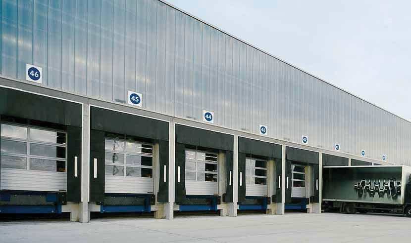 Modern manufacturing All of the essential door and operator components, such as sections, frames,
