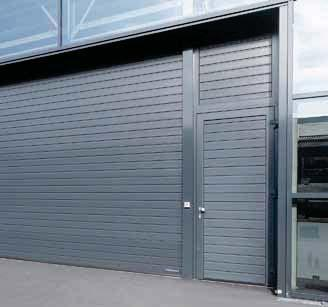 External doors with thermal break Robust internal doors Secure apartment entrance doors (T30 / WK 2) Fully glazed office doors External doors with thermal break Up to 30 % better thermal insulation*