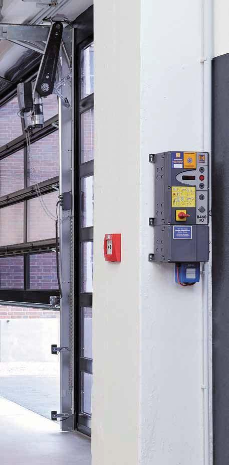 Hörmann Operators and Controls Hörmann has developed its own operators and controls. This means the components have been adjusted to work together, ensuring the door s functional safety.