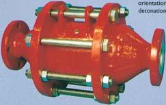 Safety Relief Valves the world s leading specialists in storage tank equipment Flame and Detonation Arresters A complete range of flame and detonation arresters for maximum protection against flame