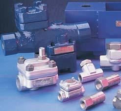 Steam & Power Products a complete range of boiler trim and control valves Boiler Trim Valves Blow-Off and Continuous Blowdown Valves Seatless valves no seat, live loaded packing and slow opening Unit