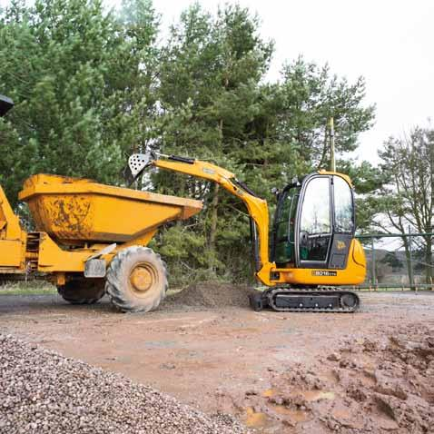 components ensures reliability is built-in JCB is world-renowned for engineering expertise. So it comes as no surprise that, while these machines are small, they re also extremely tough.