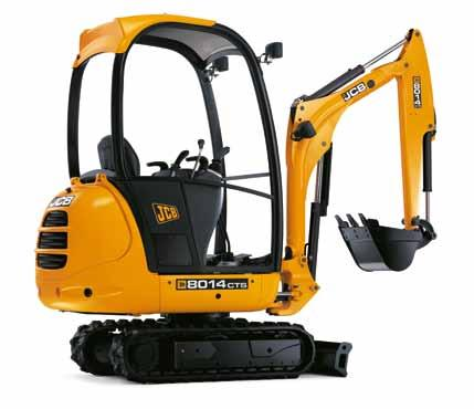 Everything you want in a mini excavator There are five key things every customer looks for in a mini: comfort,