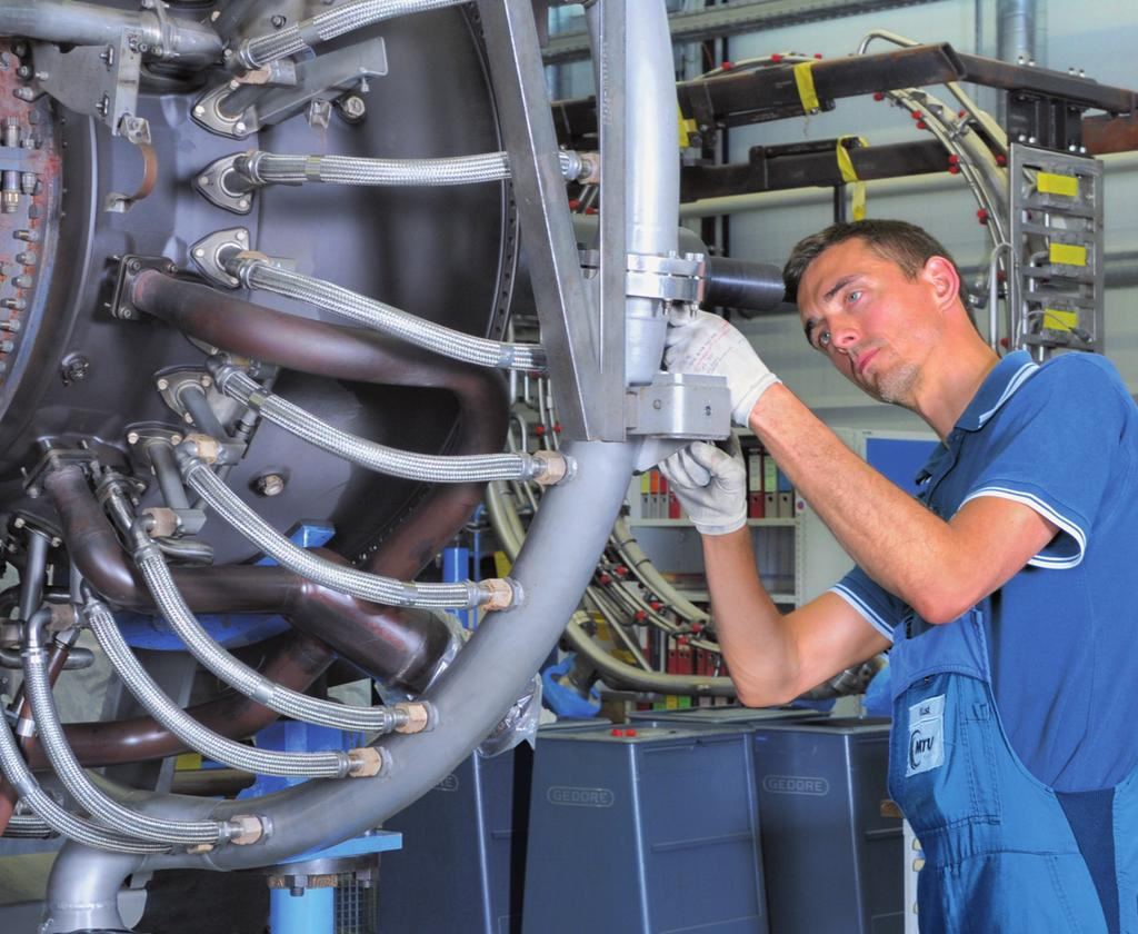 Compelling capabilities Experience MTU Maintenance Berlin-Brandenburg provides MRO services for all versions of the following gas turbines: LM2500 (incl. DLE) LM2500+ (incl. DLE) LM2500+G4 (incl.