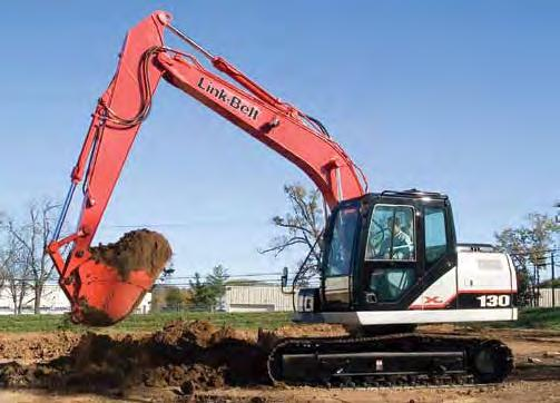 Operating Weight: 28,440 (12,900 kg) SAE Net Horsepower: 95 HP (71 kw) Bucket Range:.42 -.98 yd 3 (.32 -.
