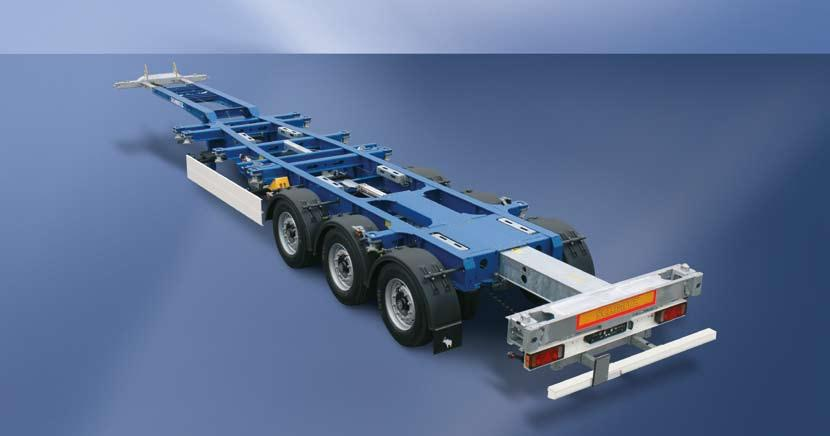 Container Trailer Chassis S.