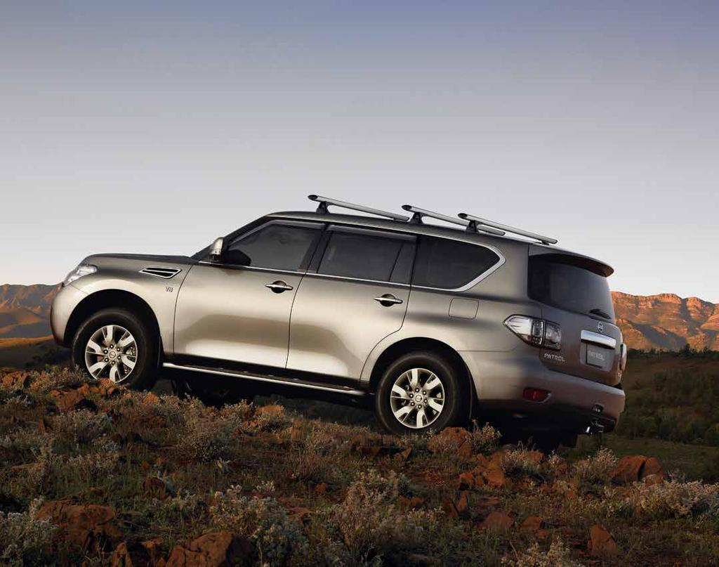 RUGGED & REFINED With Nissan Genuine Accessories you can make the most of your vehicle, thanks to