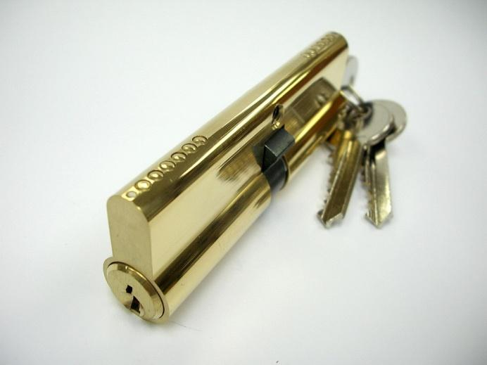 Euro Profile Cylinder Anti-drill Pins (LK5209) Brass profile body with sintered cam and 3 brass