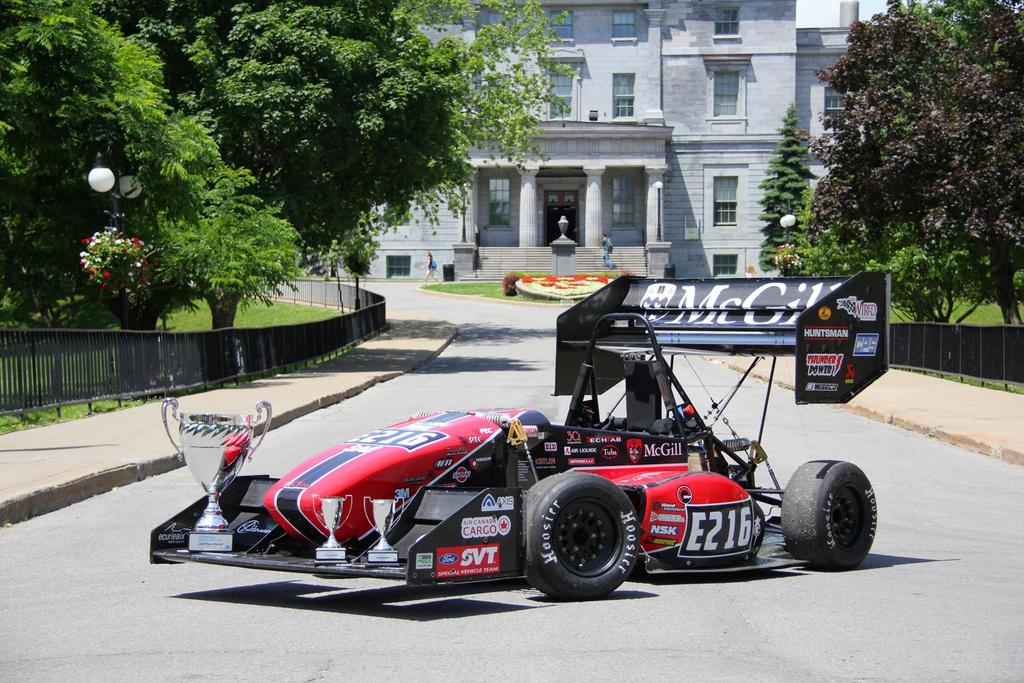 This year the team is planning to attend 2 competitions with the Electric Formula car.
