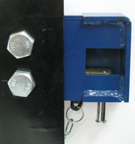 Container Security Guarded Lock Box Product Specification Padlock is fully enclosed
