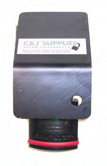 Hasps C&J Guarded Hasp Product Specification The CJ Guarded Hasp is shown here with a Mul-T-Lock E14L Padlock (not provided) The CJ Guarded Hasp provides