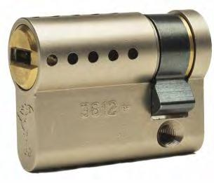 mortise lock cases Operation - 360 rotation by key or thumb turn Product Options - Emergency cylinder with both sides permanently operational - Single or double