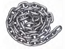 diameter link - Various lengths available - Chain sleeves available Chains 16mm Stainless Steel 16mm close link chain that