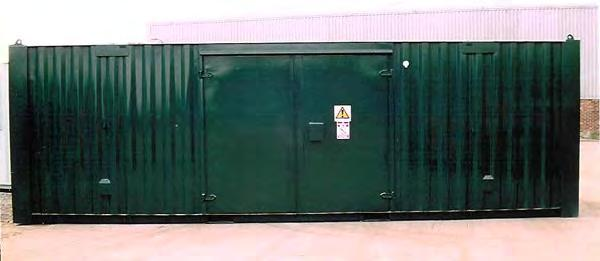 Purpose Built Chemical Stores Each all steel store is custom built to suit your requirements any size available up to 45 x 12 x 8 The internal colour of the store is white and there is a choice of