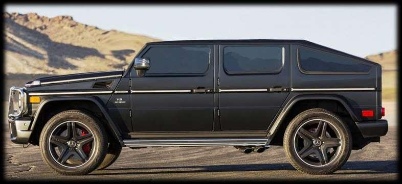 MEGA Specialty Vehicles Mercedes G63 M Mercedes Maybach Limousine We also