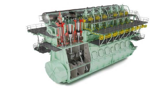 Introduction to Marine Engines on LNG Marine gas engine principles Direct gas injection