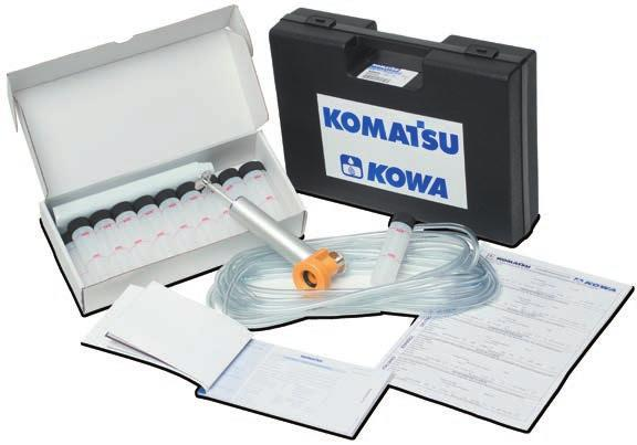 Much like a blood sample tells you how your body is functioning, KOWA is a health check of your equipment.