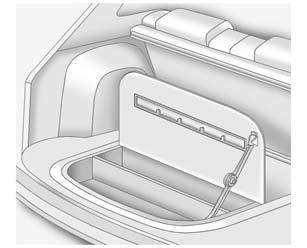 Storage 4-5 Cargo Tie-Downs For vehicles equipped with cargo tie downs, the four tie-downs are located in the rear compartment of the vehicle. Use the tie-downs to secure small loads.