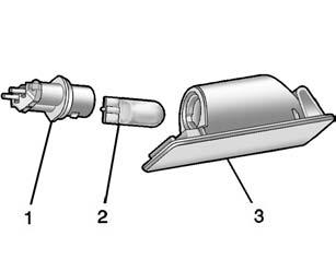 Install a new bulb/socket assembly into the taillamp assembly, and turn the bulb/ socket clockwise until it clicks. 9. Reinstall the taillamp assembly and tighten the screws. 10.