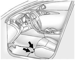 10-96 Vehicle Care. Use the floor mat with the correct side up. Do not turn it over.. Do not place anything on top of the driver side floor mat.. Use only a single floor mat on the driver side.