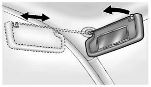 Keys, Doors, and Windows 2-25 If an inside rear door handle is being pulled at the same time a safety lock is deactivated, only that door will remain locked and the indicator light may flash.