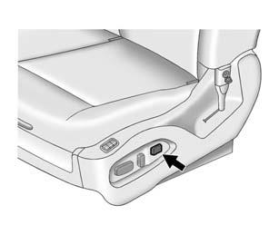 Power Seat Adjustment To adjust the lumbar support, see Lumbar Adjustment on page 3-4.
