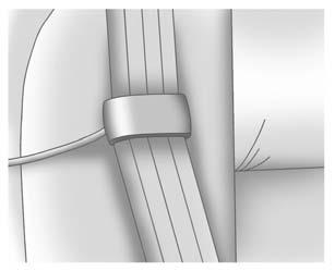 Place the guide over the belt, and insert the two edges of the belt into the slots of the guide. 3.