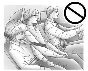 3-34 Seats and Restraints. Can proper safety belt fit be maintained for the length of the trip? If yes, continue. If no, return to the booster seat. Q: What is the proper way to wear safety belts?