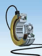 Sensor-Bearing Units Exact information on the motion status of rotating or axially travelling components is decisive in many fields of engineering.