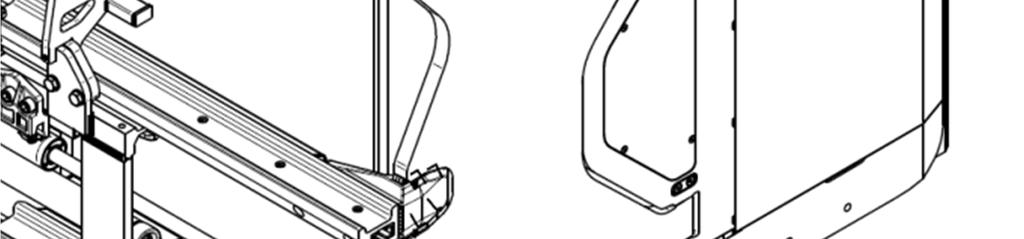10.3. JAW DISASSEMBLING Attachment fixed to the truck or positioned so that you can move the jaws hydraulically.