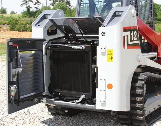 and Two Rear Facing - Engine Preheat - Hour Meter - Back-up Alarm TAKEUCHI FLEET MANAGEMENT - 2 Year Standard Service - Minimize Downtime - Remote Diagnostics - Utilization Tracking - Proactive