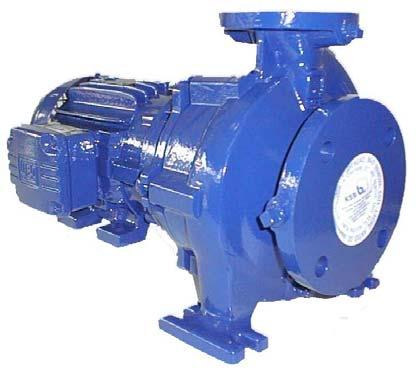 Operating Instructions Nº A2744.8E/2 KSB Megabloc General Service Centrifugal Pump Line : Version: Mega Bloc 1.