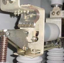 All bushing current transformer connections are wired to shorting type terminal blocks in the low voltage compartment.