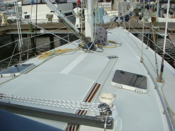 Catalina foredeck