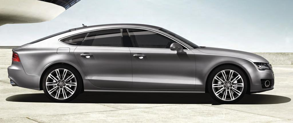 a bold new direction The A7 was designed to stand for something. To never stand still and to always look ahead.