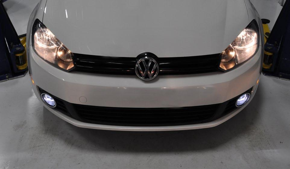 Your Fog Light Conversion Kit Installation is complete!