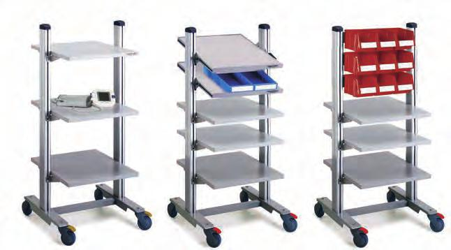 Extra shelf 530 x 650 50 TS605 TS605 ESD 3. Adjustable shelf* 530 x 650 50 TAS605 TAS605 ESD 4. Bin profile Length 525 BP50 BP50 ESD 5. Power channel WJK 40** Length 470 mm WJK40 WJK40 6.