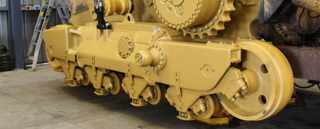 HELPFUL HINTS Tips for new undercarriage installations A NUMBER OF PRODUCT SELECTION, OPERATIONAL AND MAINTENANCE THINGS CAN BE DONE TO HELP PROLONG THE SERVICE LIFE OF YOUR UNDERCARRIAGE TRACK