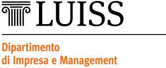 Department of Business and Management Master Course Management (Two years 120 ) Course Programmes web page http://didattica.impresaemanagement.luiss.