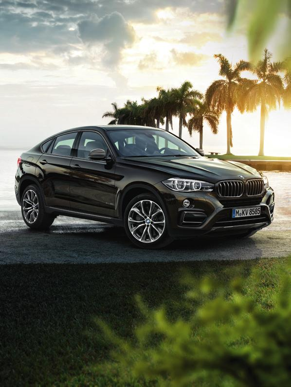 The BMW X6 www.bmw.co.uk The Ultimate Driving Machine THE BMW X6. PRICE LIST.