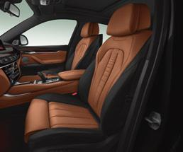 leather with Grey contrast stitching Remote control with Pearl Grey Chrome buttons PURE EXTRAVAGANCE COGNAC INTERIOR