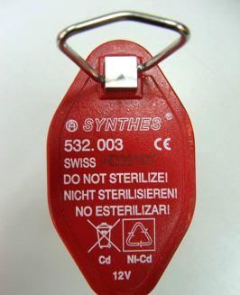 Sterile Transfer Battery, 12 Volt Original Conmed battery PEO3520 Conmed