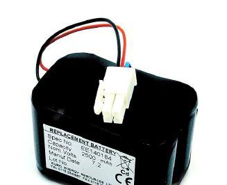 includes; Battery, Discharger and Instructions on safe disposal of Battery Pak.