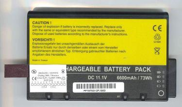 8V 6Ah lithium Ion New Original, SKU: TMP) 7846 SKU: 7846. Battery Philips M4605A, ref.