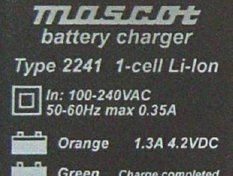 ML2217 10-10740 Faro-Lite Charger for Lithium.