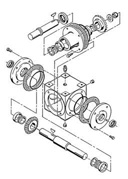 General Note These instructions contain information common to more than one model of Bevel Gear Drive.
