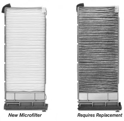 GENUINE NISSAN PARTS YOU CAN RELY ON In-Cabin Microfilter The In-Cabin Microfilter filters the air you breathe in your electric vehicle.