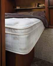 Optional Serta Trump Mattress upgrade provides a restful sleep with